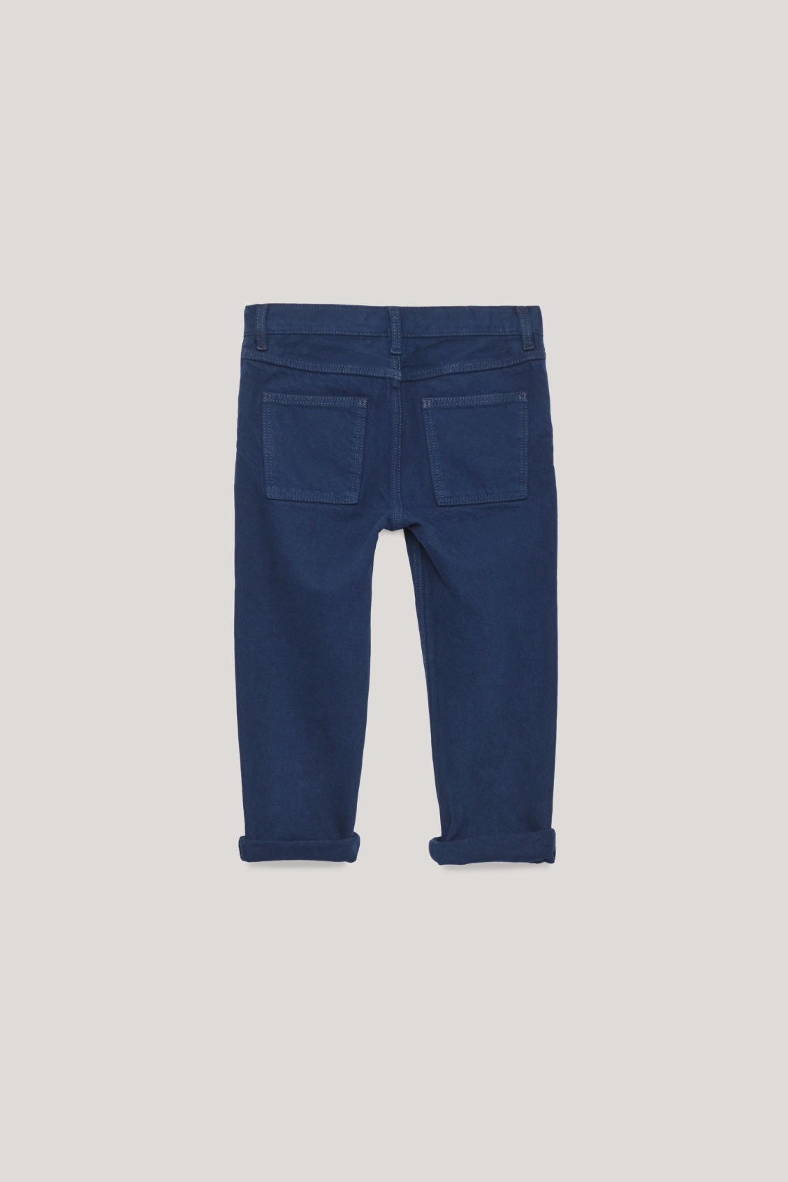 Side image of Cos straight-leg denim jeans  in blue