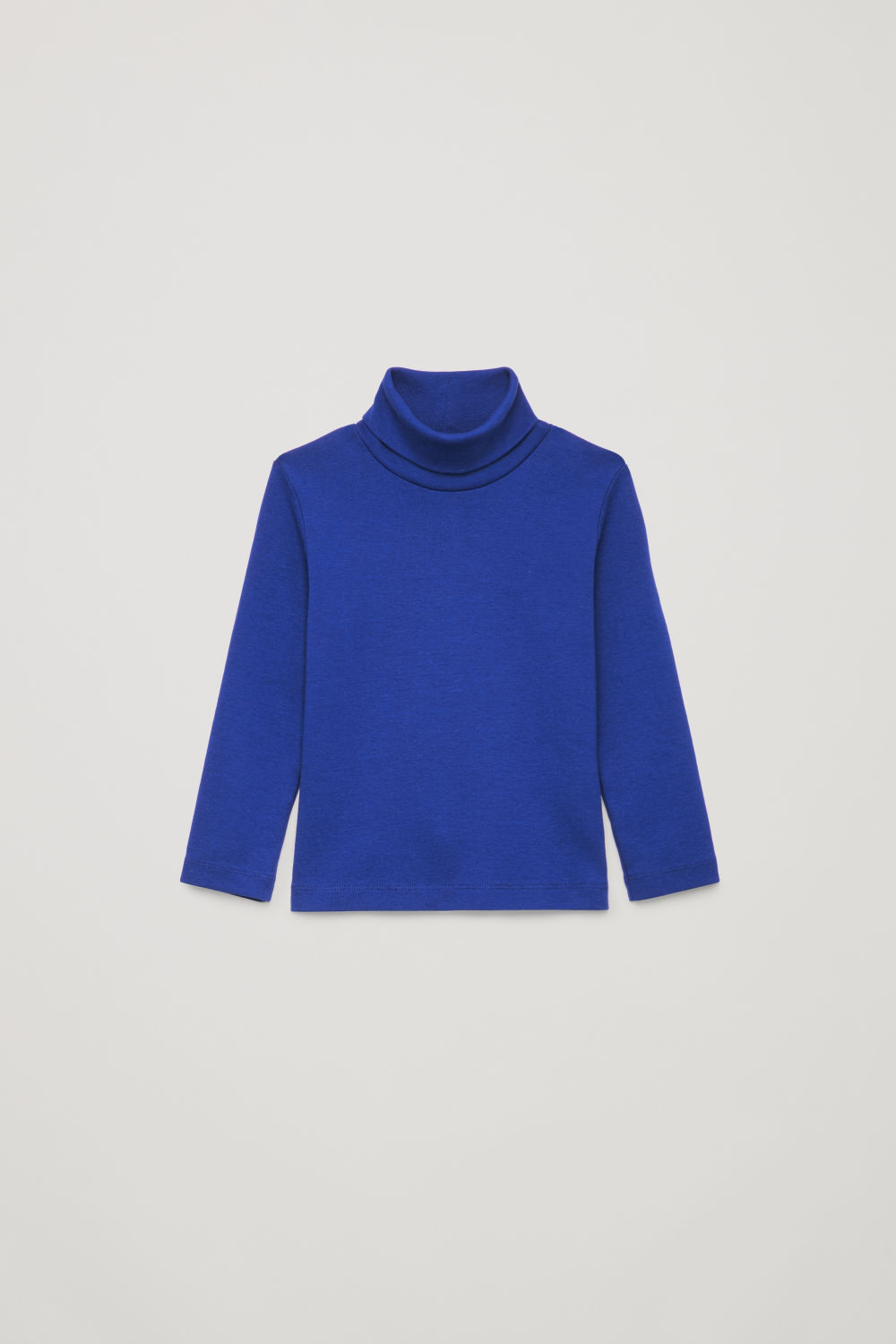 JERSEY ROLL-NECK TOP
