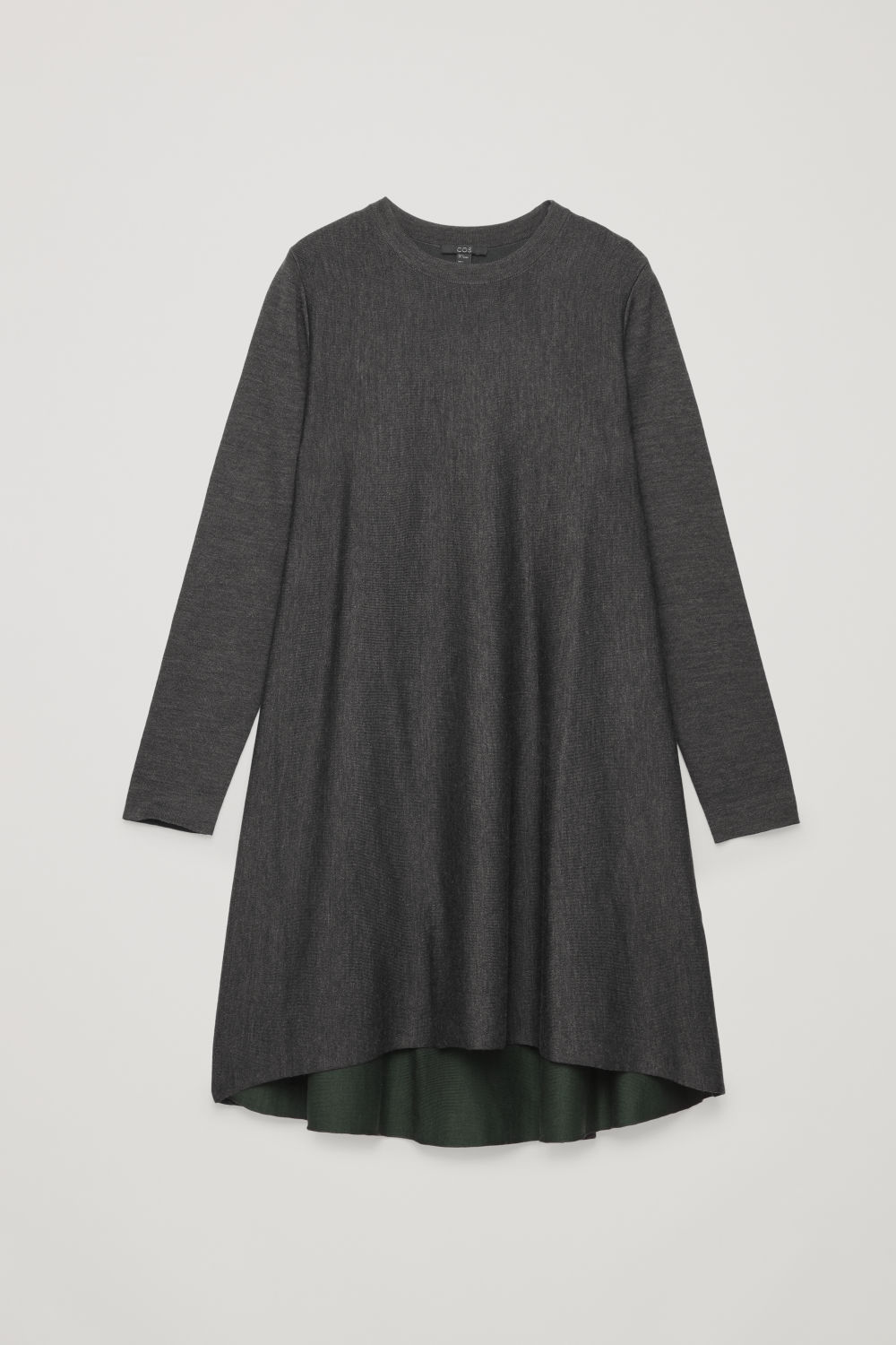 DOUBLE-FACE MERINO WOOL DRESS