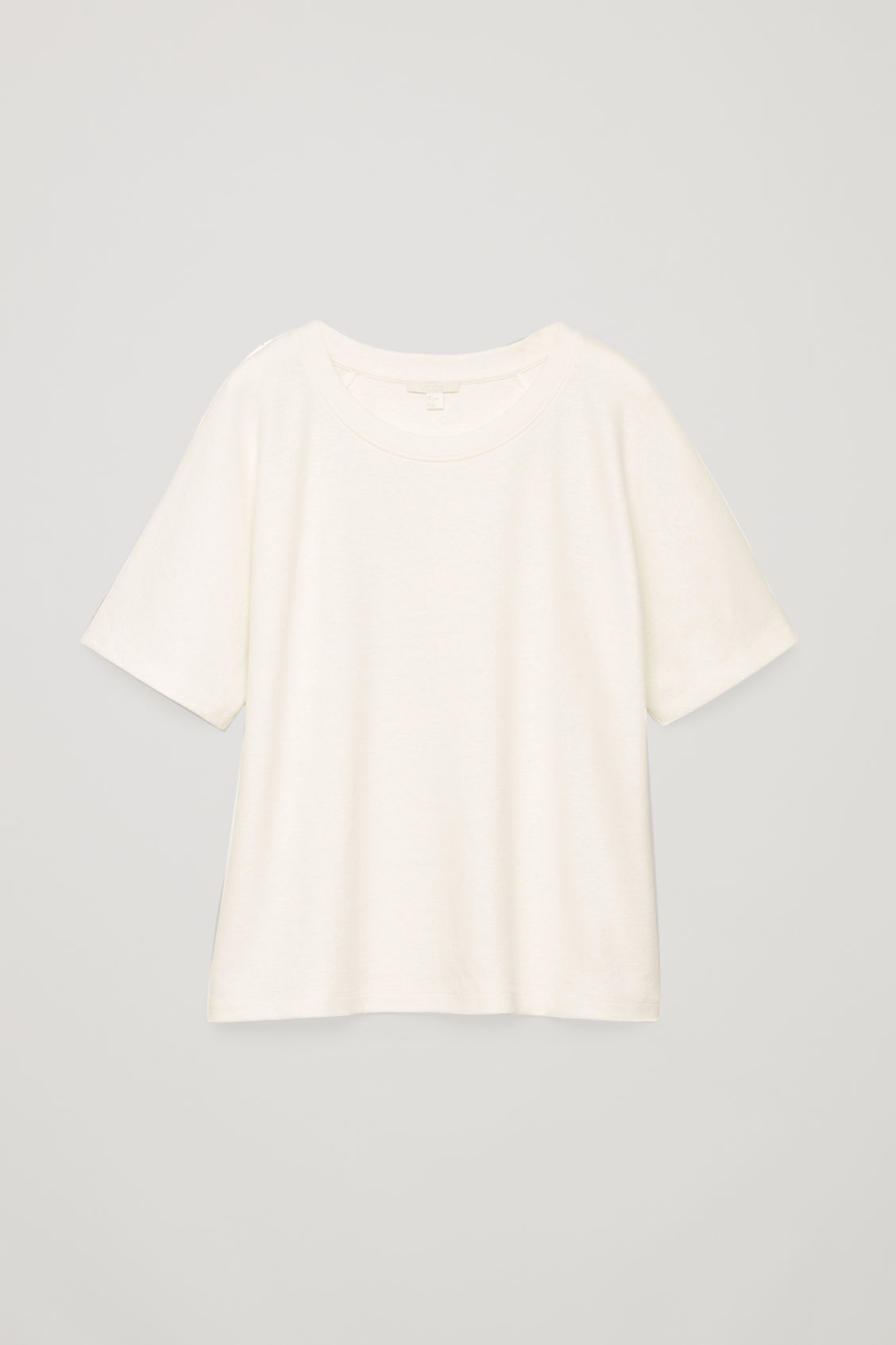 Front image of Cos raglan-sleeved t-shirt in neutral