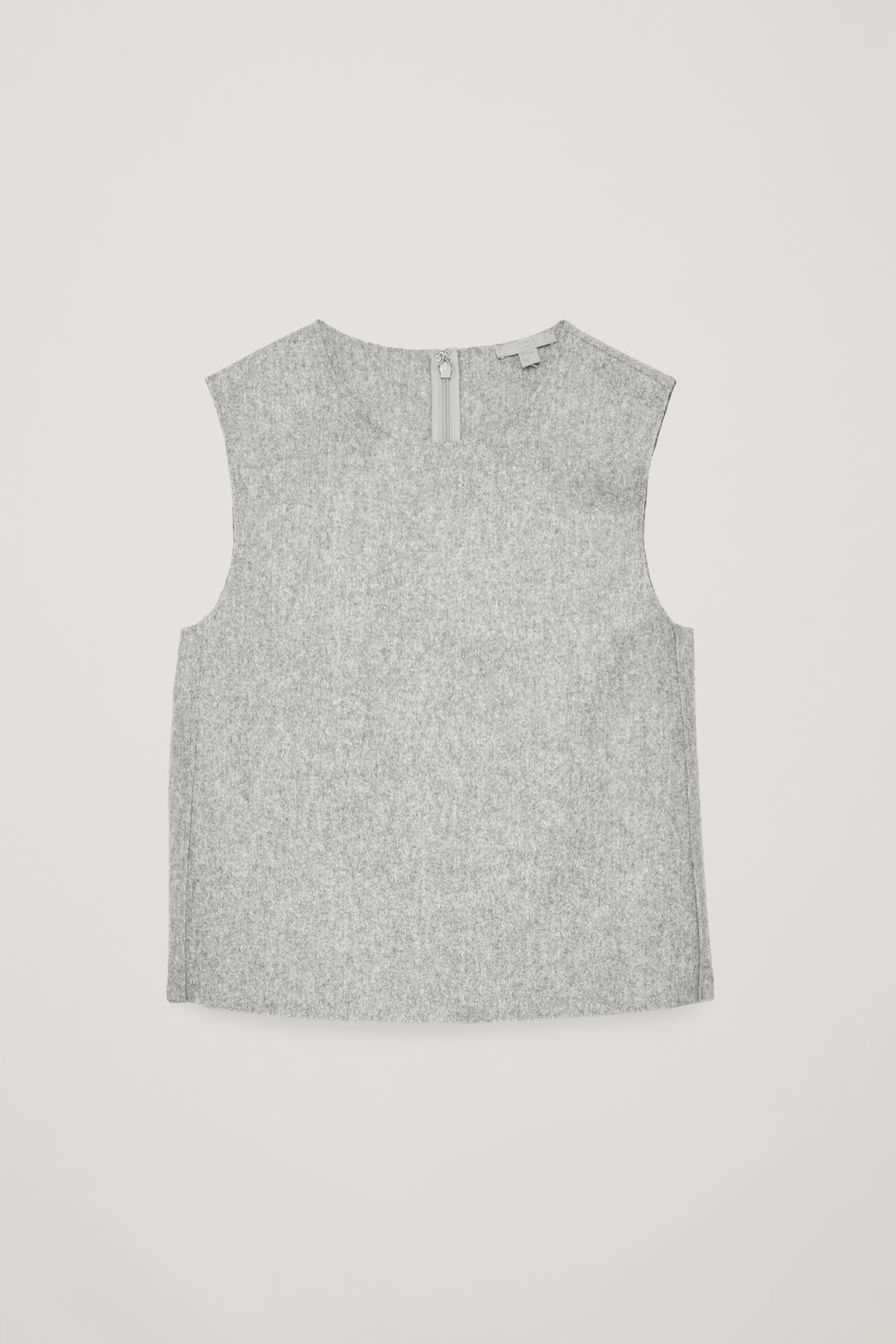 BOXY WOOL VEST TOP