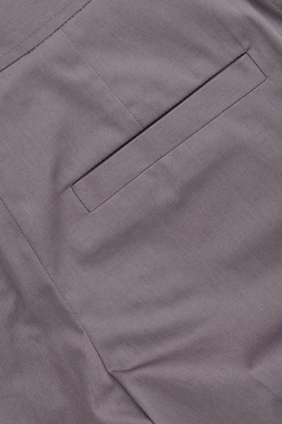 Side image of Cos wide-leg cotton trousers in purple