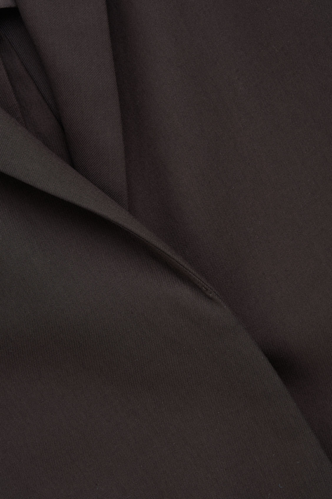 Side image of Cos vent-detail blazer in brown