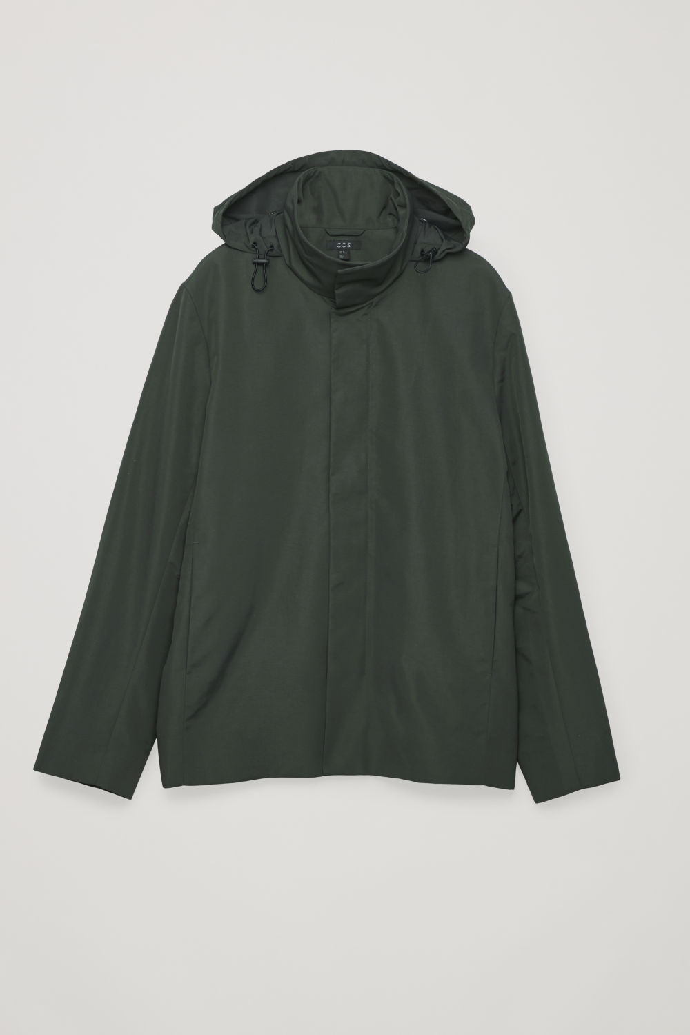 LIGHT FUNNEL-NECK JACKET