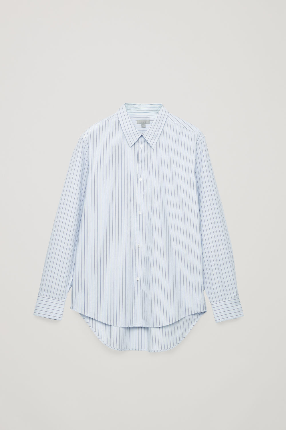 STEPPED MULTI-STRIPE SHIRT