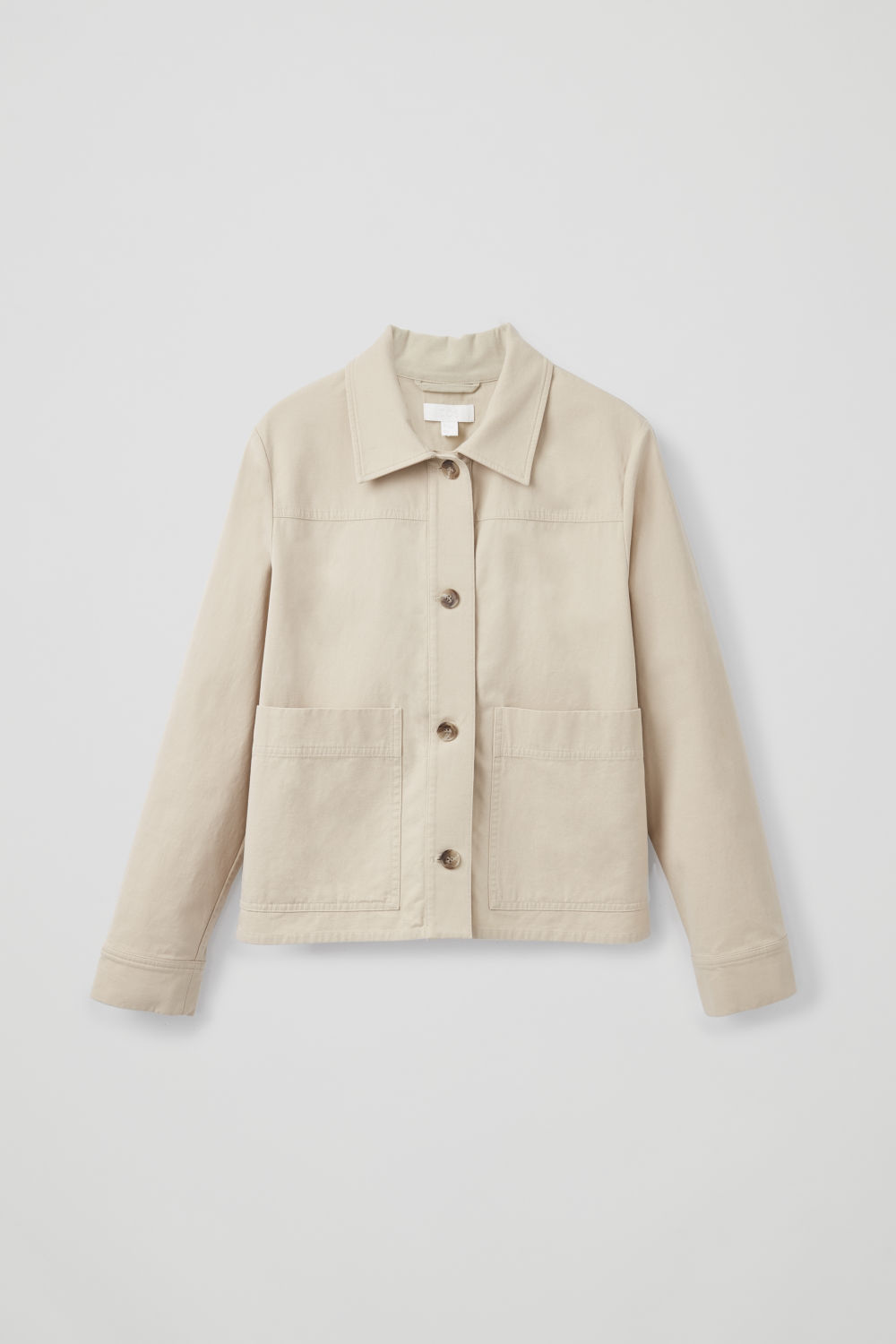BUTTON-UP CANVAS JACKET