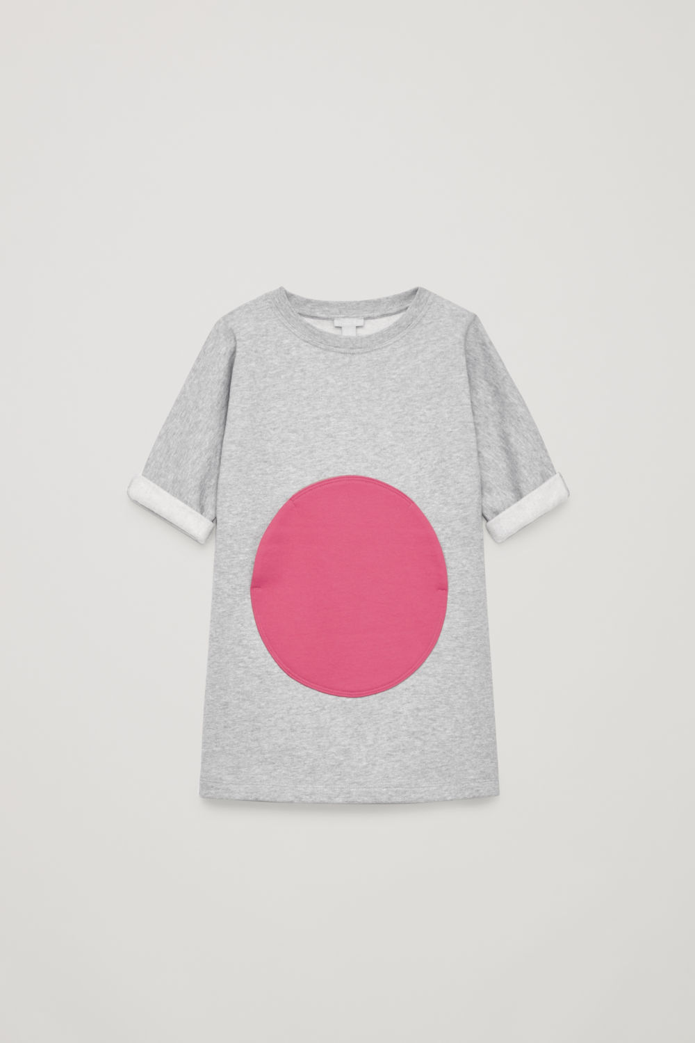 CIRCLE-POCKET JERSEY DRESS