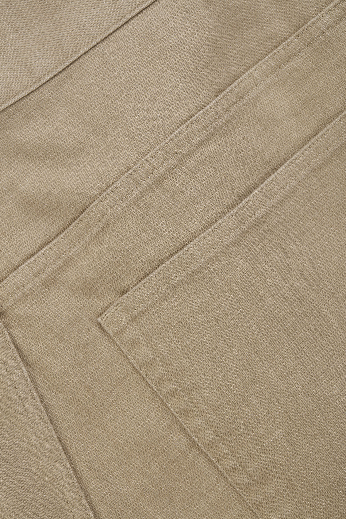 Side image of Cos relaxed leg jeans in beige