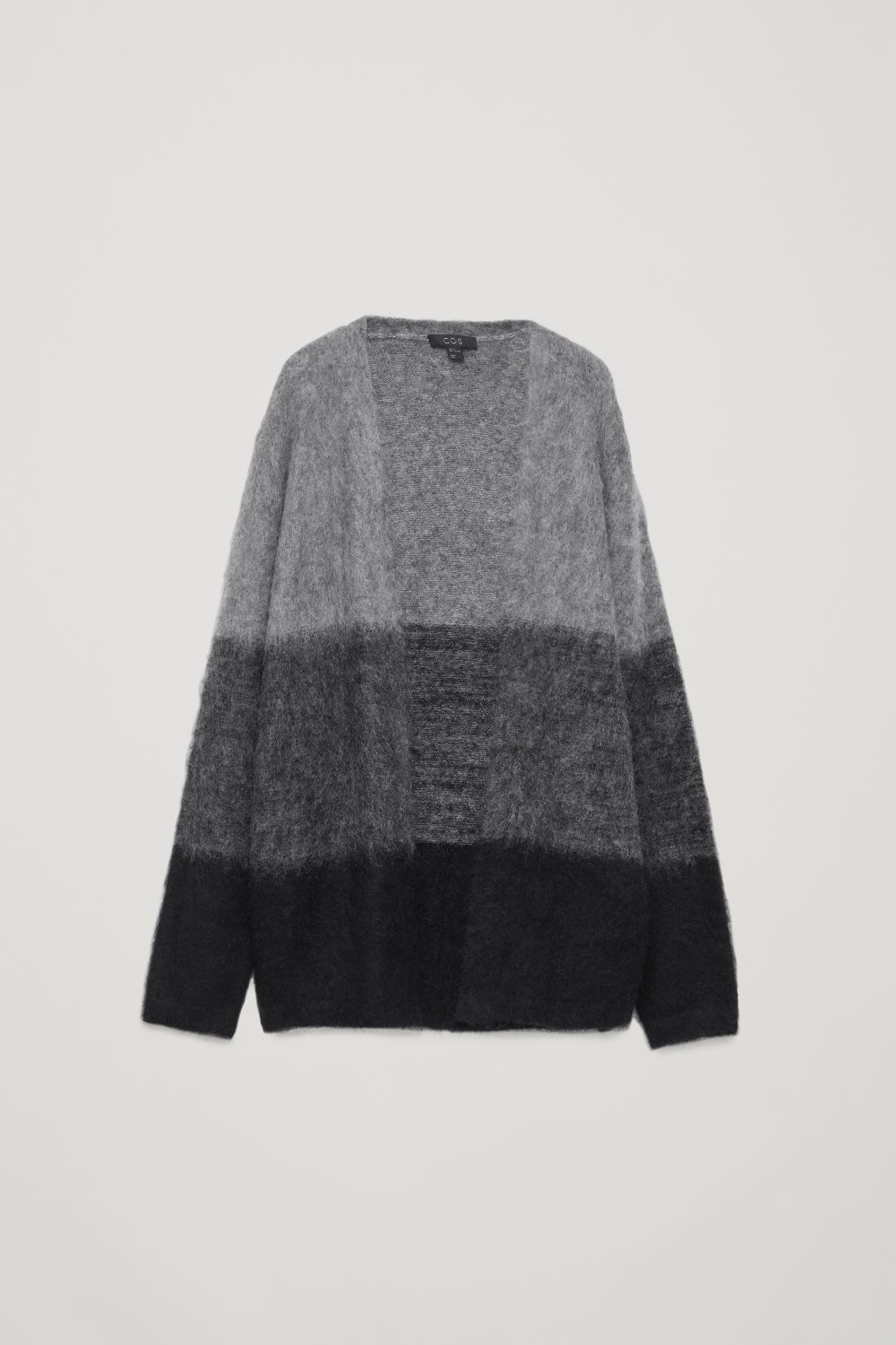 FUZZY-TEXTURED CARDIGAN