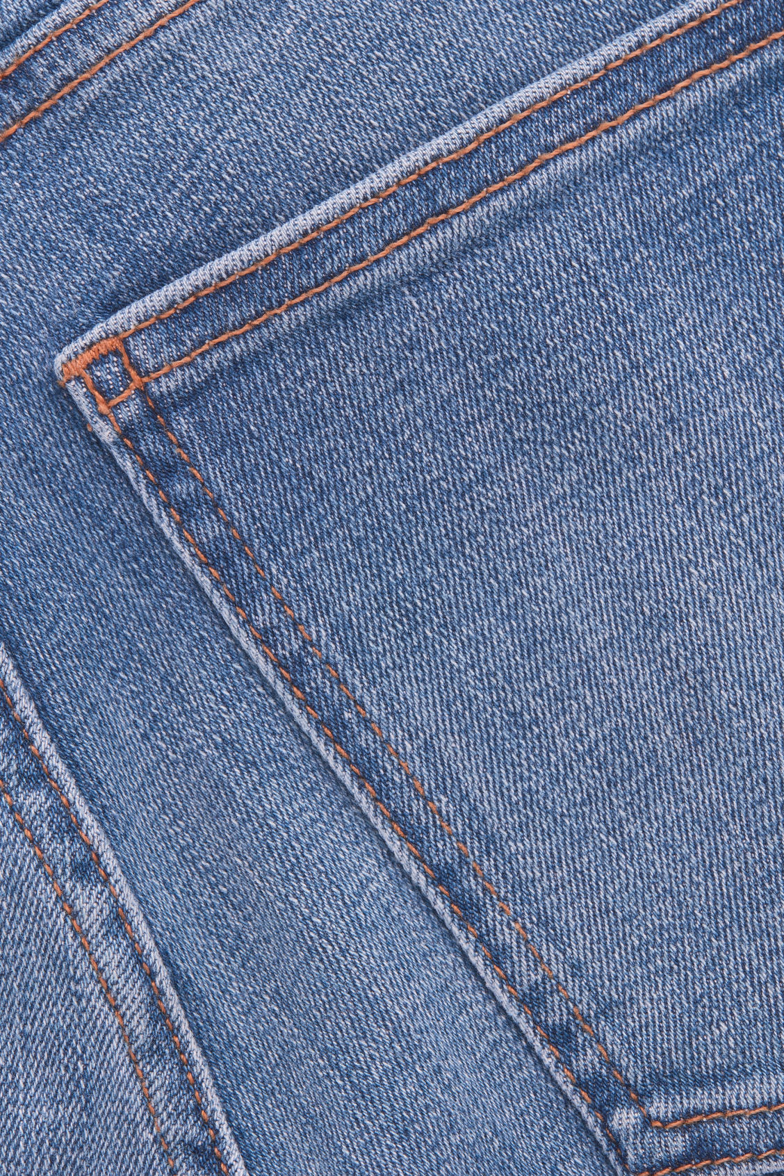 Side image of Cos skinny-leg jeans in blue