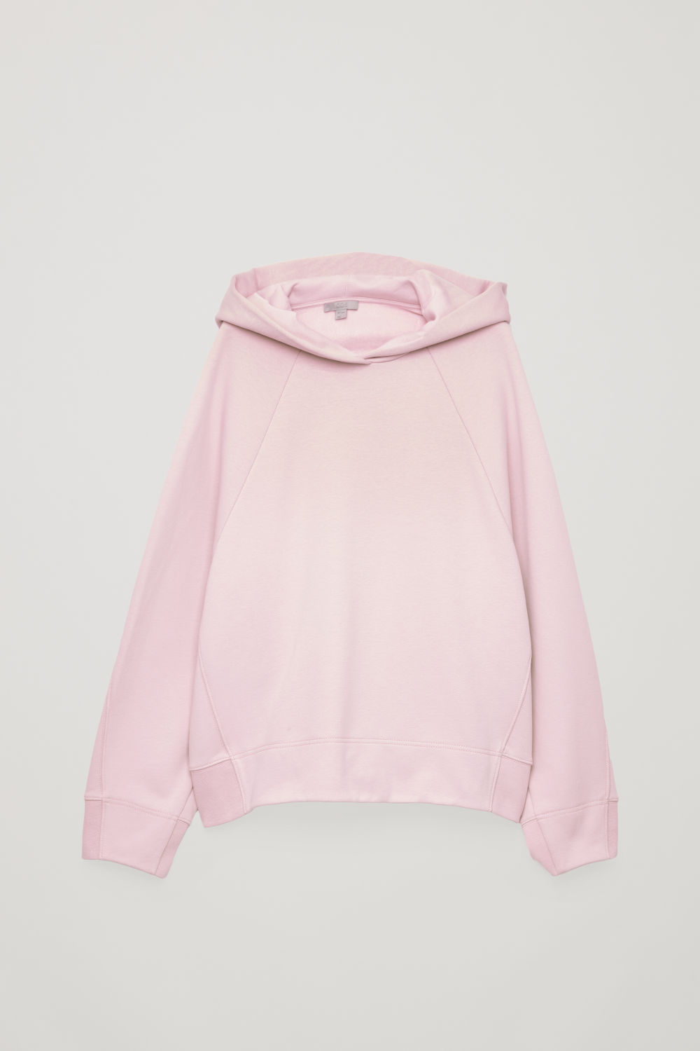 HOODED SWEATSHIRT WITH WRAP SEAMS