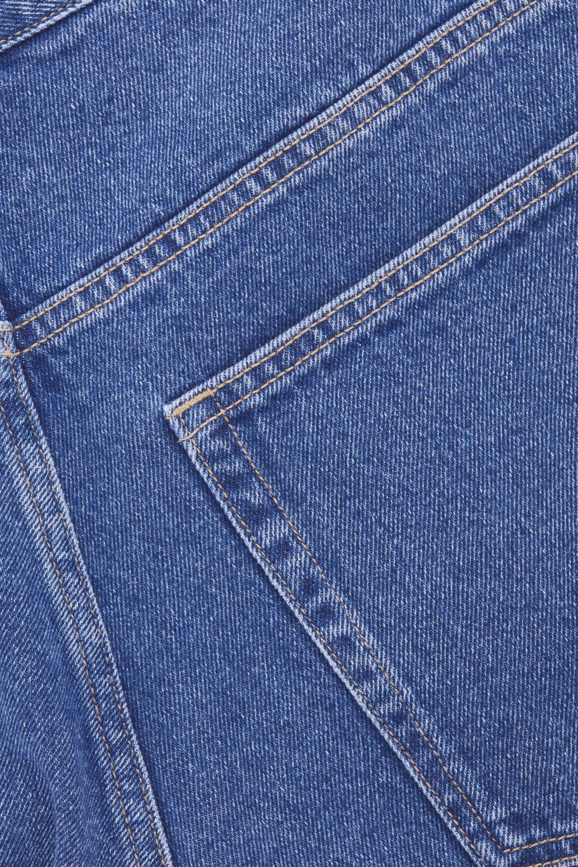 Side image of Cos slim leg jeans in blue
