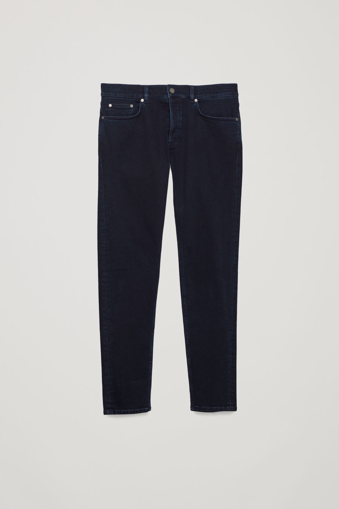 Front image of Cos slim-leg jeans in blue