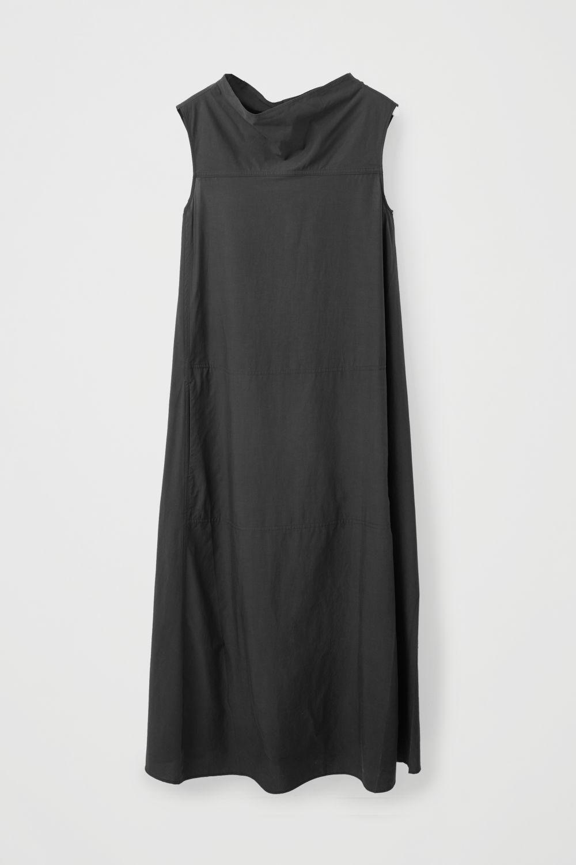538d89d2f2b9c ... SLEEVELESS DRESS WITH GROWN-ON NECK