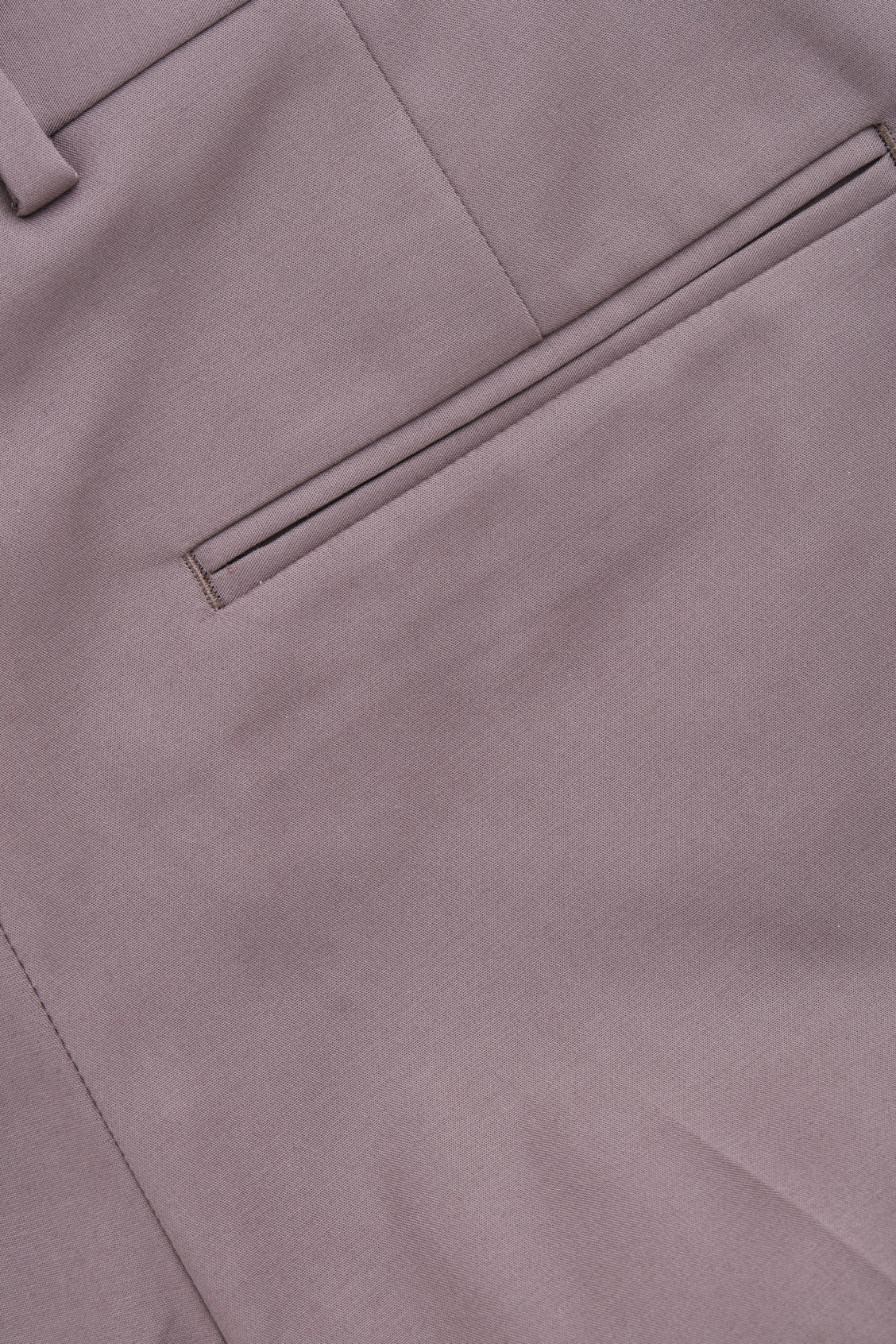 Side image of Cos skinny-leg turn-up trousers in purple