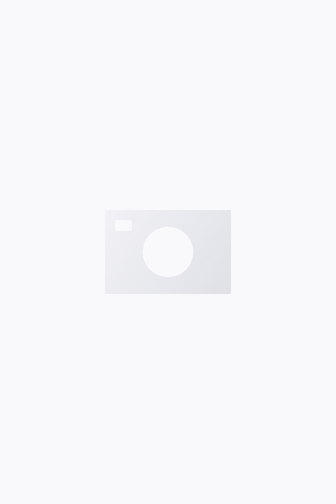 Side image of Cos concealed-button cotton shirt in white