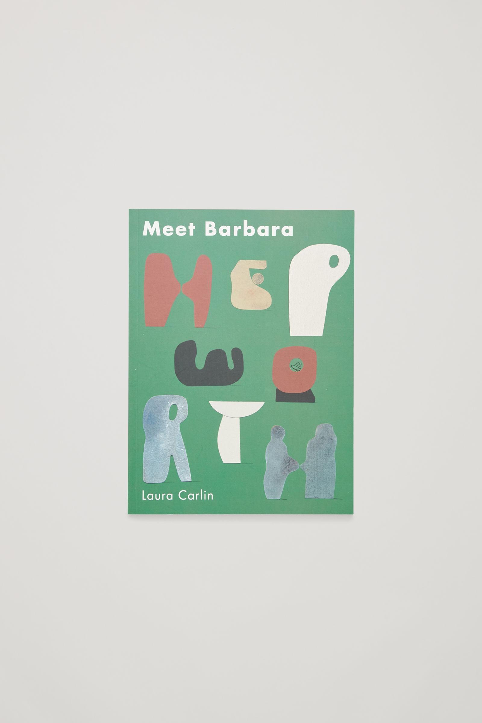 코스 키즈 아트북, 일러스트 책 COS MEET THE ARTIST BOOK,MEET BARBARA HEPWORTH