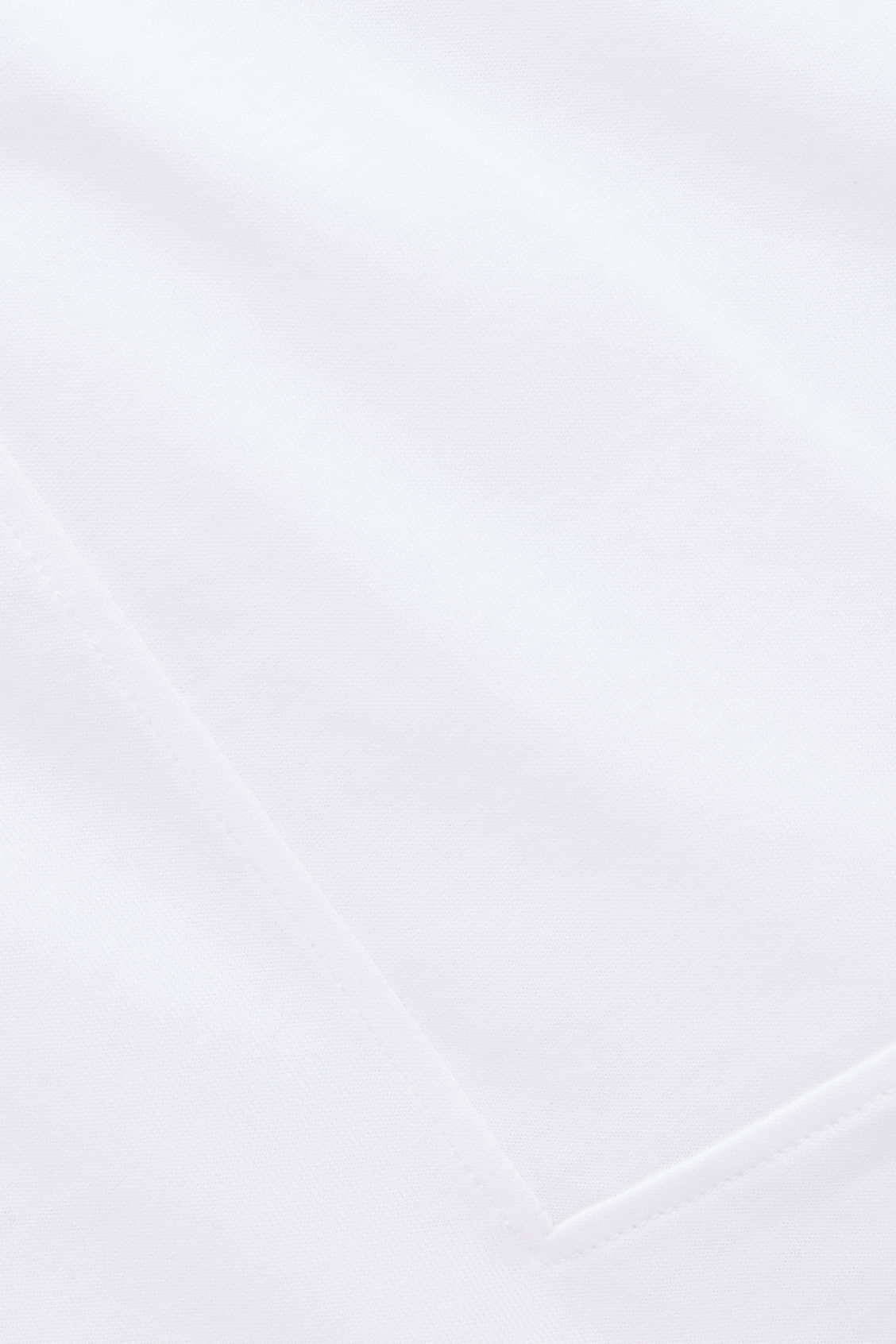 Side image of Cos kimono-sleeved jersey top in white