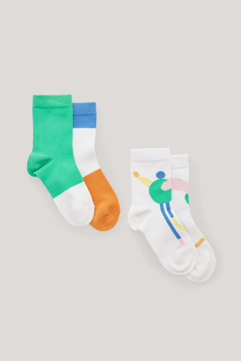 ILLUSTRATED COTTON SOCKS