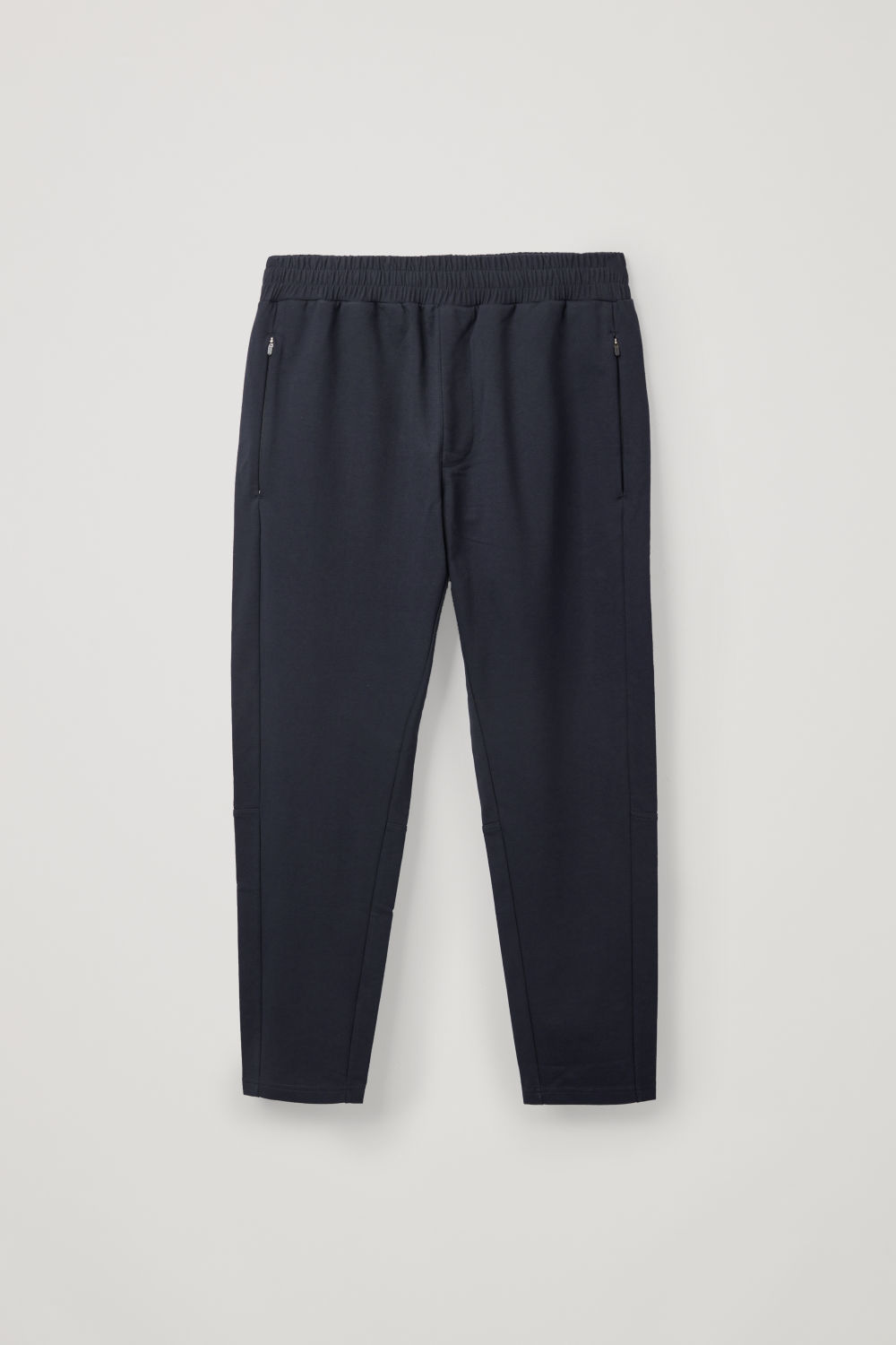 Front image of Cos relaxed jogging trousers in blue