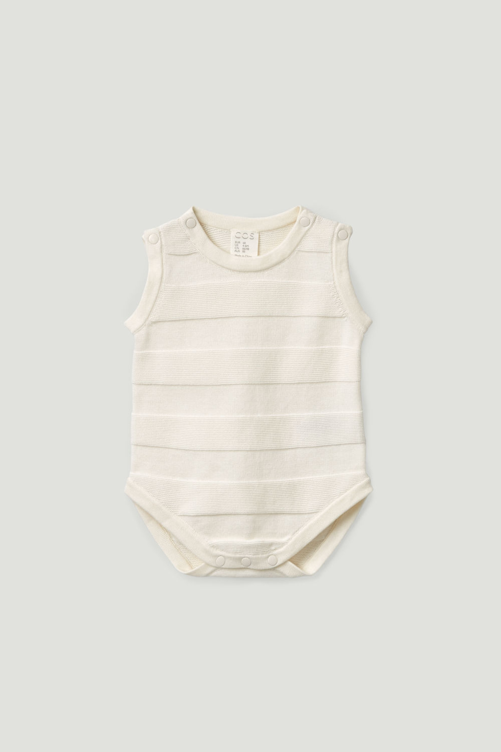 KNITTED-STRIPE COTTON GROW