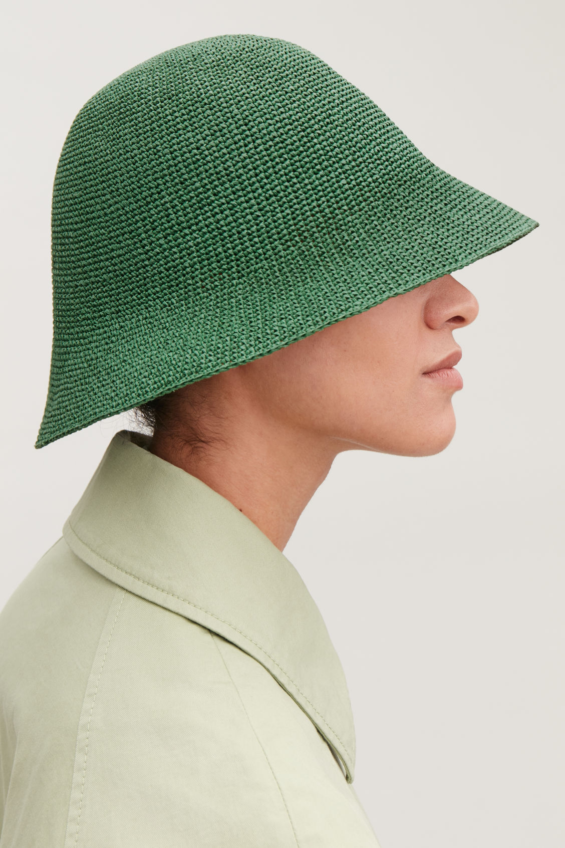f3ace482273 CROCHET BUCKET HAT - Amazon green - Hats Scarves and Gloves ...
