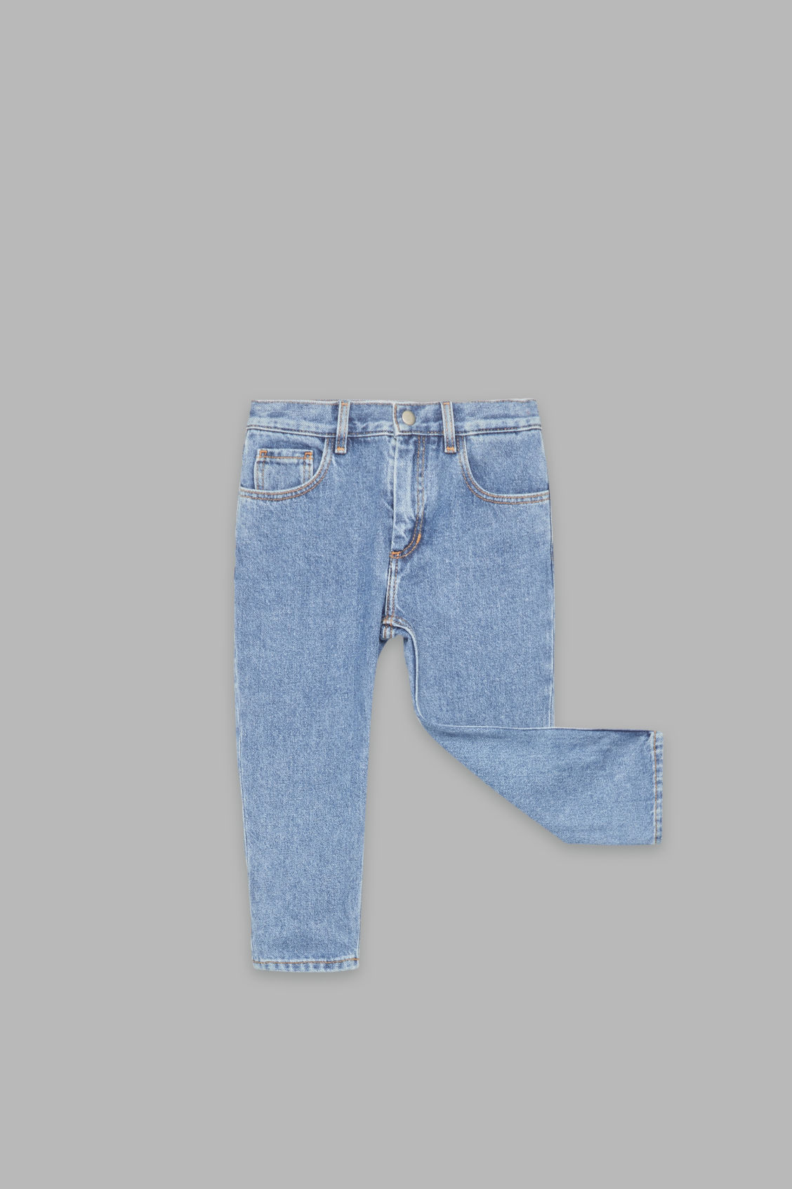Detailed image of Cos straight-leg jeans in blue