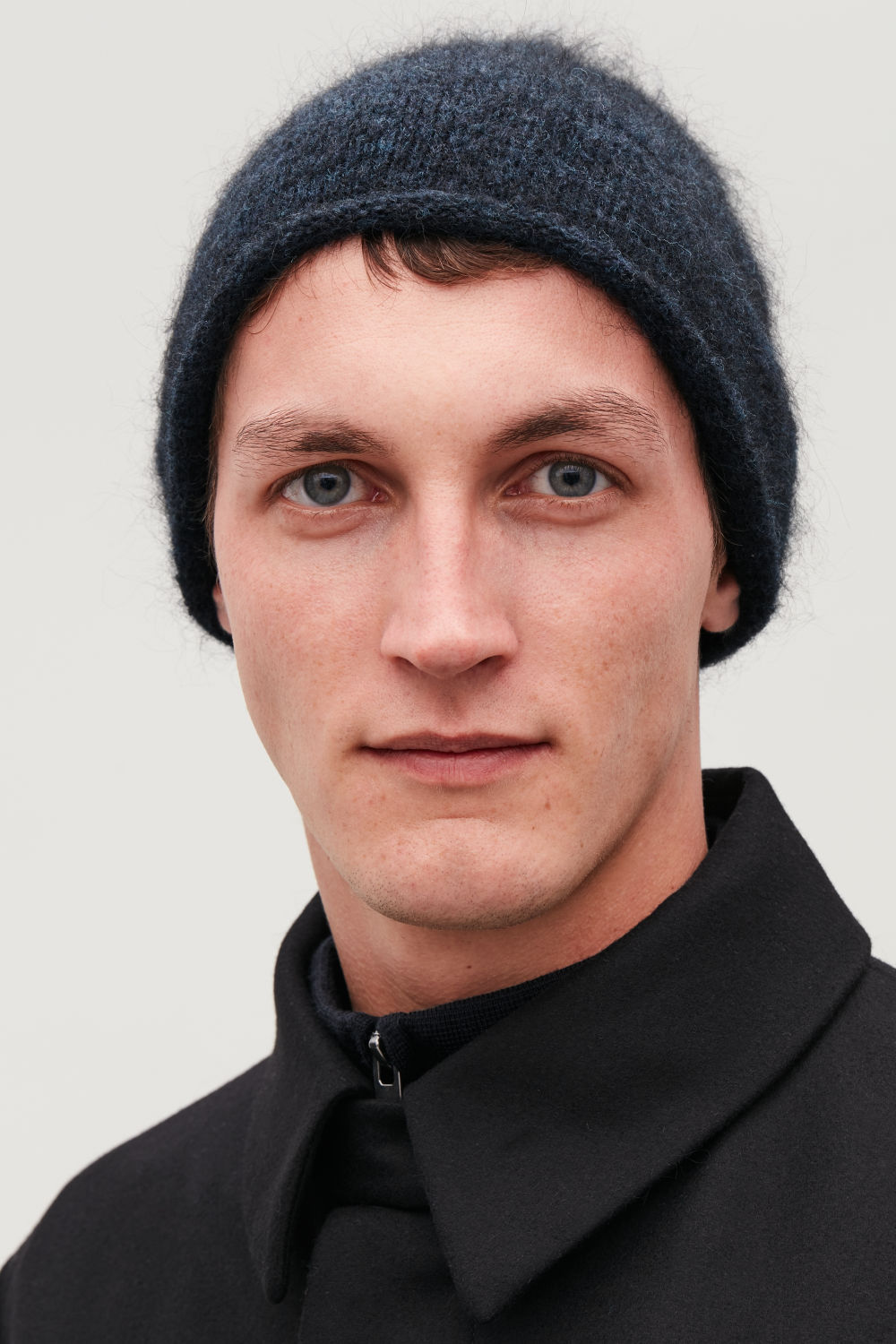 WOOL-MIX BEANIE HAT