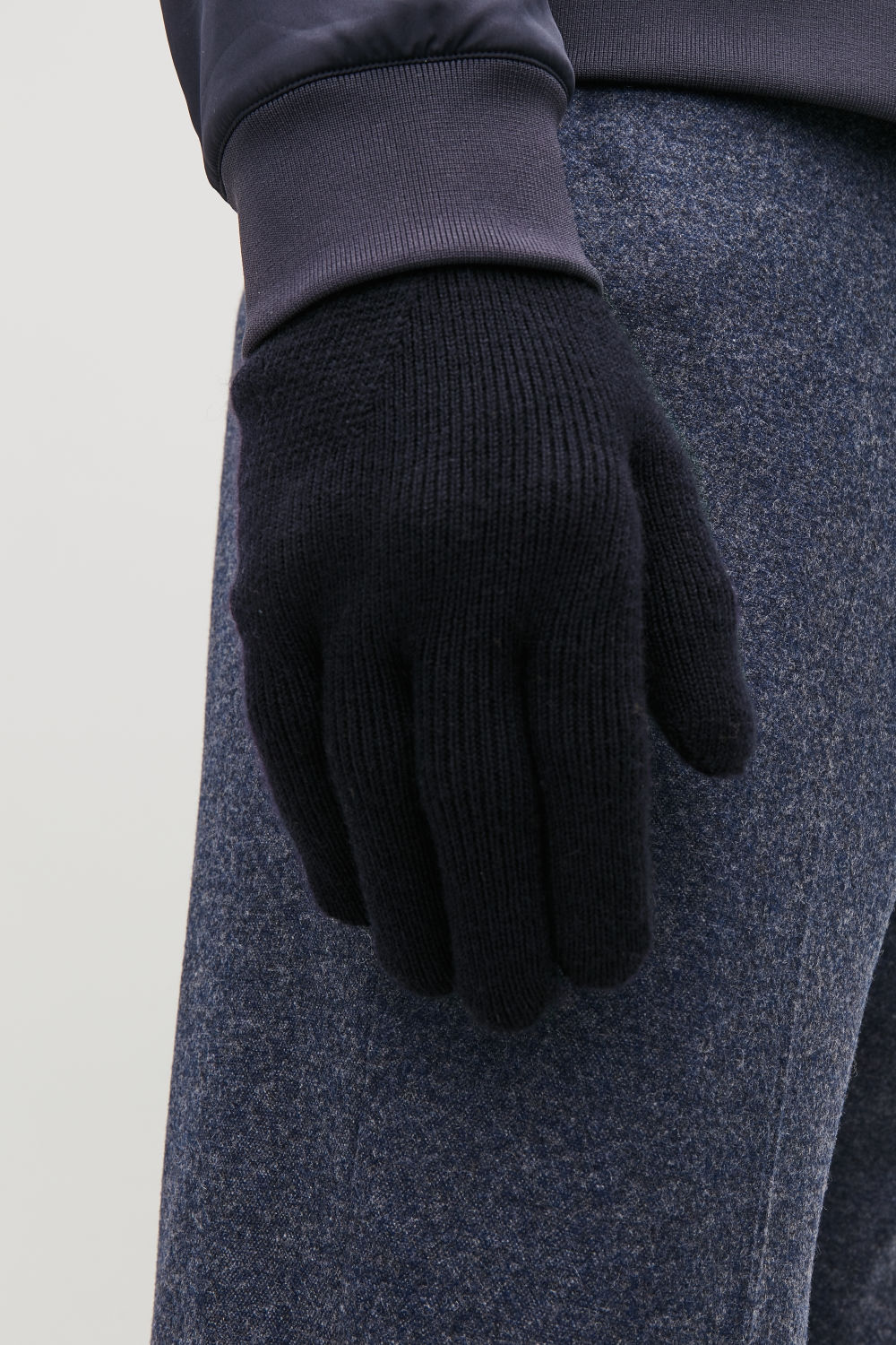 MERINO KNITTED GLOVES
