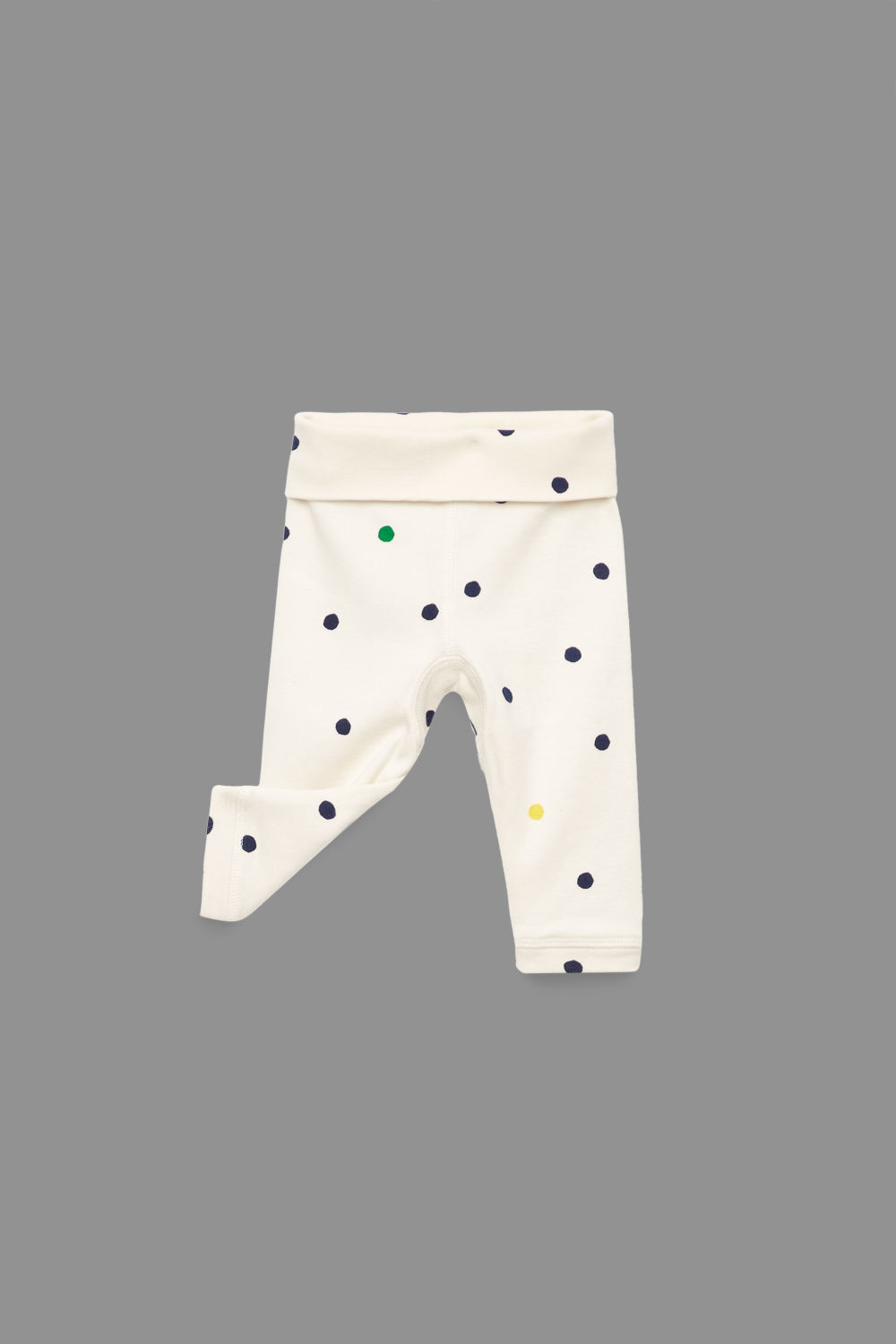 PRINTED ORGANIC-COTTON TROUSERS