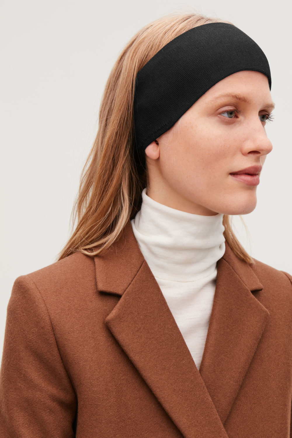 TWO-TONE MERINO WOOL HEADBAND
