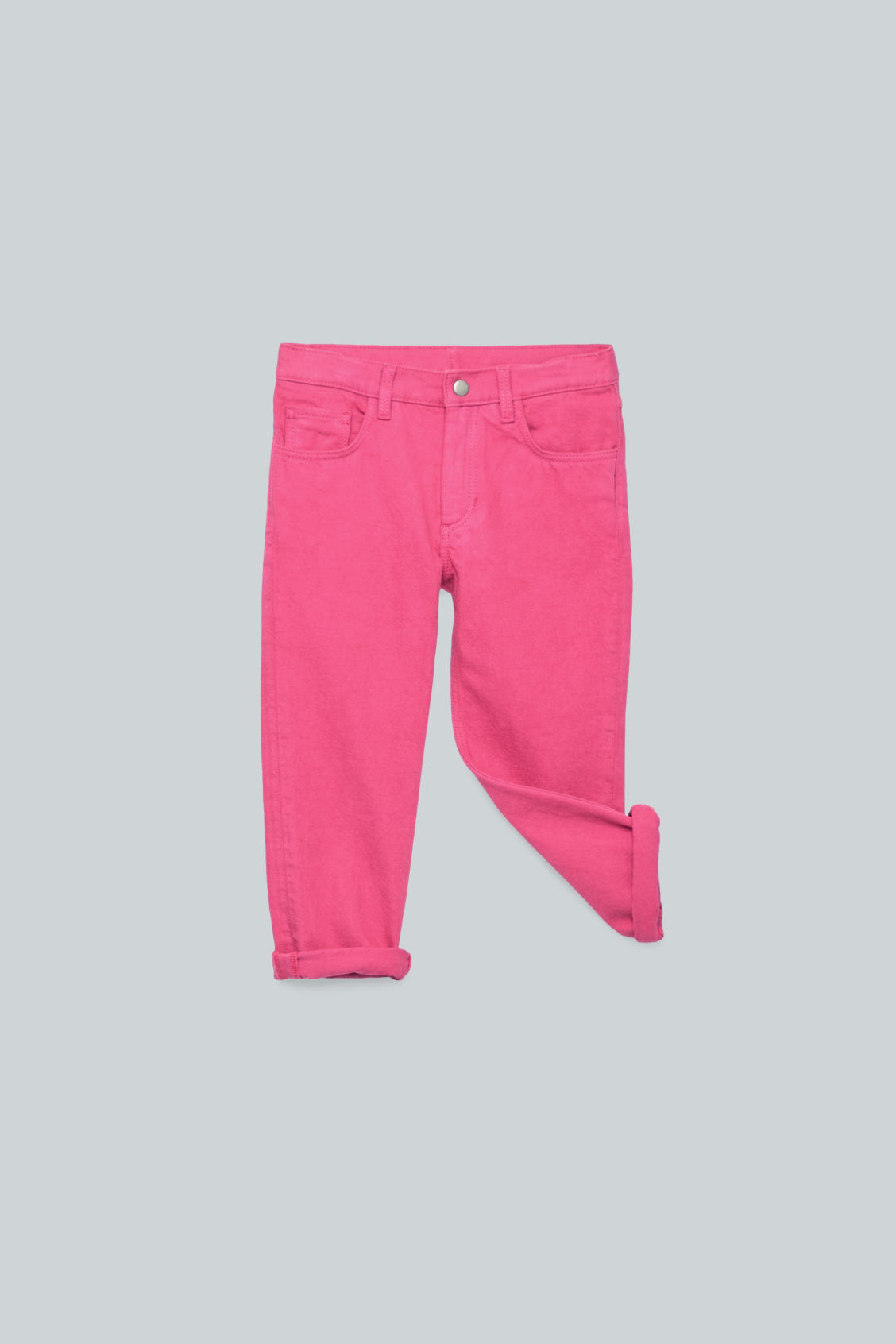 Detailed image of Cos straight-leg denim jeans  in pink