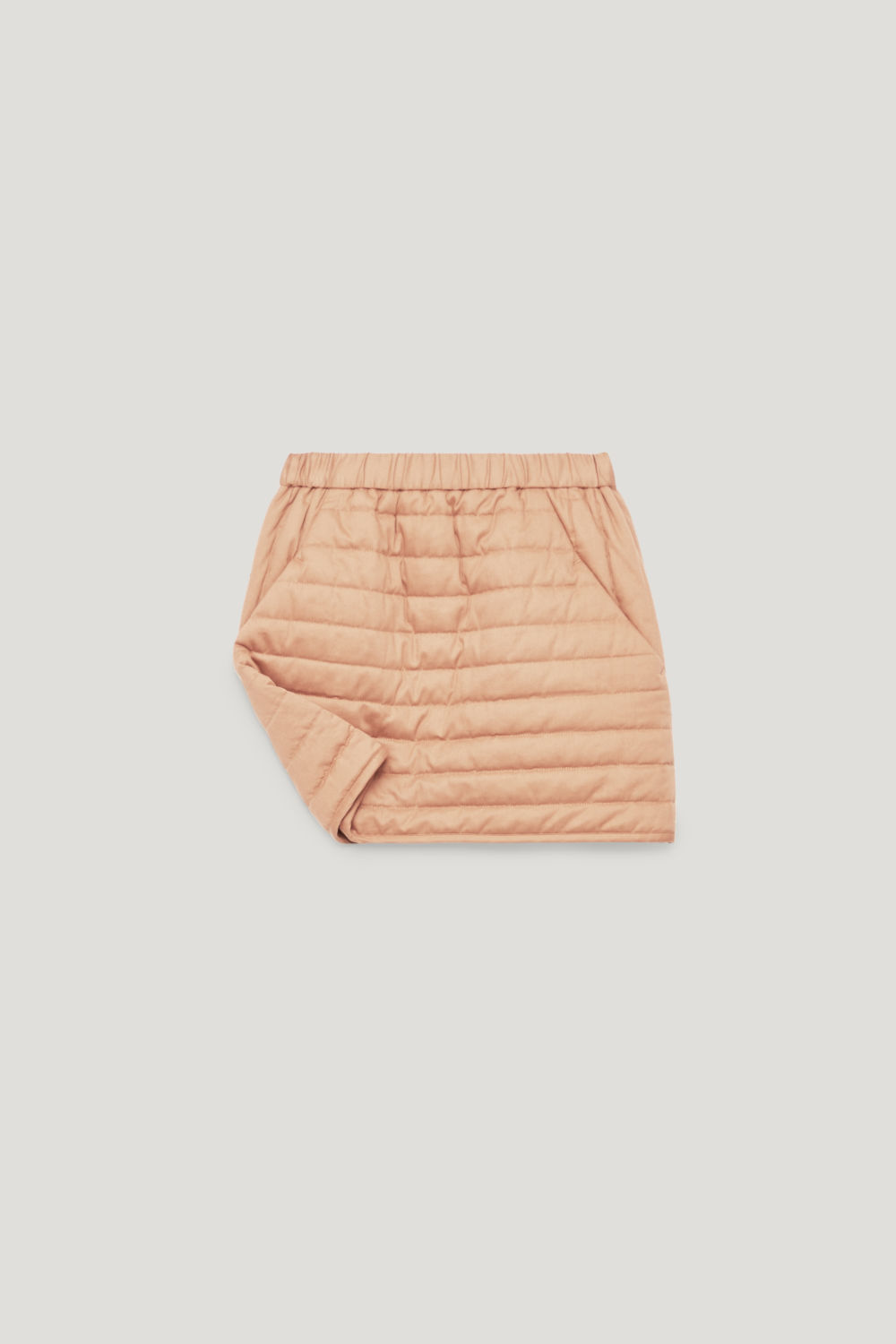 QUILTED COTTON SKIRT