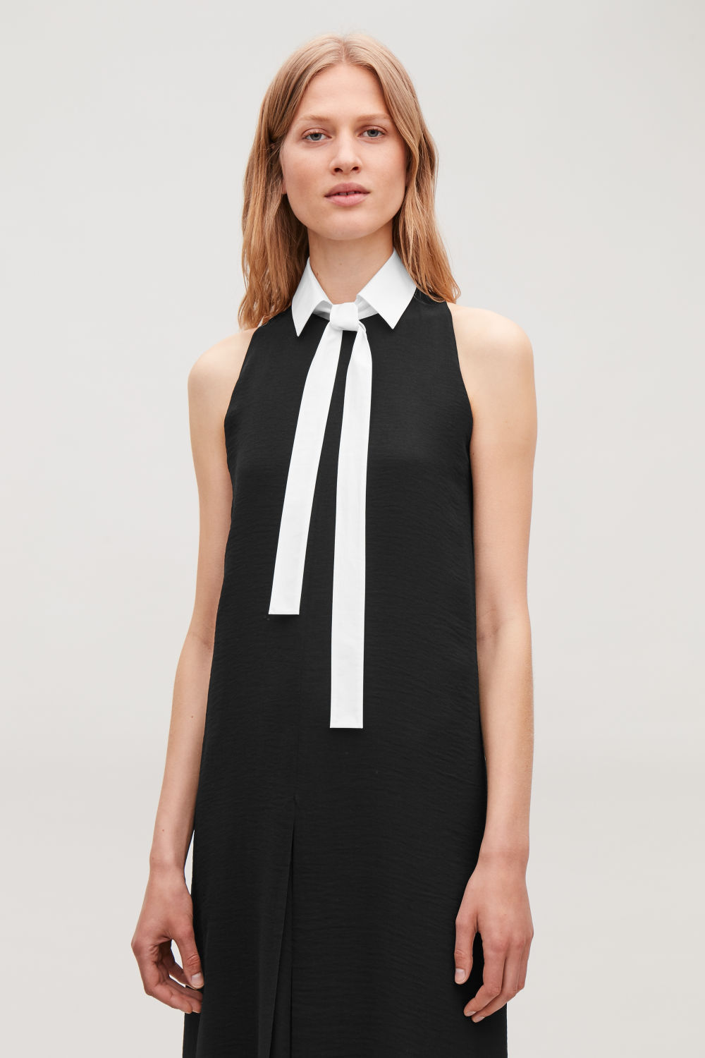 COTTON-POPLIN COLLAR