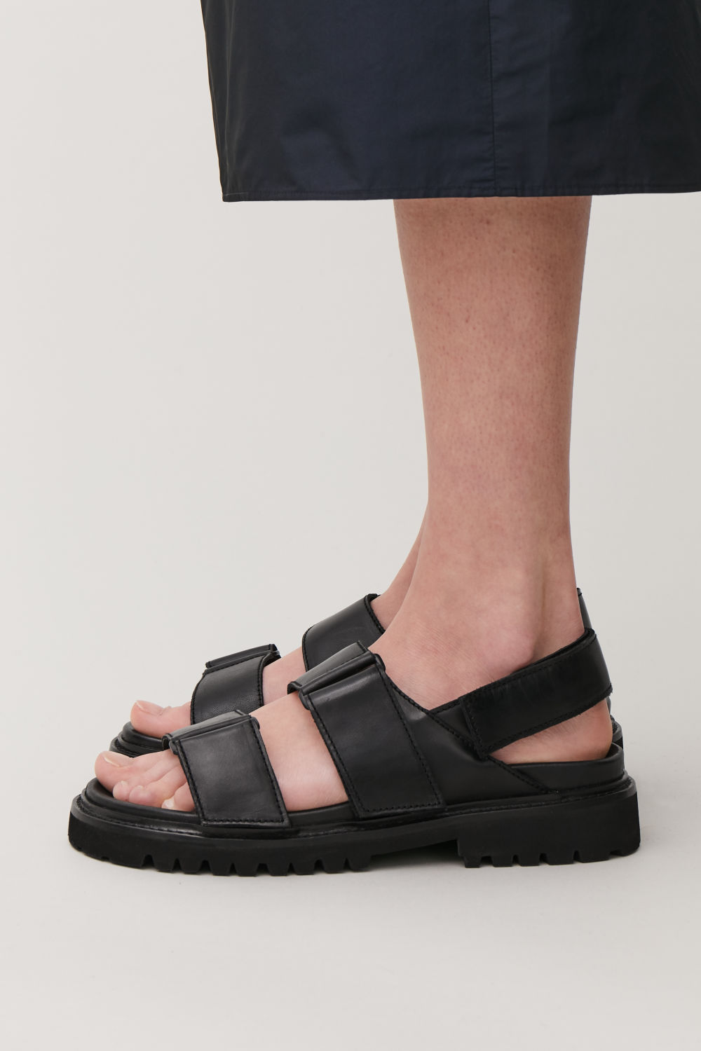 c373237d7c2b CHUNKY LEATHER SANDALS CHUNKY LEATHER SANDALS
