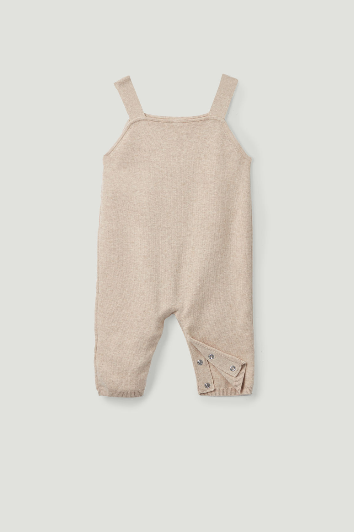 2ce33daaa Detailed image of Cos cotton-knit romper in beige